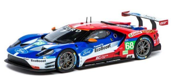 """FORD GT Race Car - """"No.68""""  DIGITAL 124"""