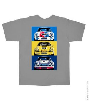 Porsche 911RSR Classic Tee (Artwork on Back)