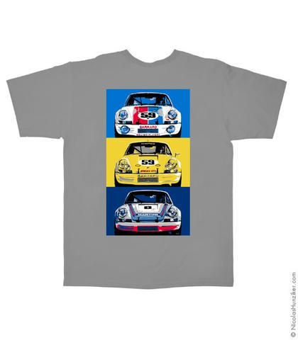 Porsche 911RSR Classic Tee (Artwork on Back)