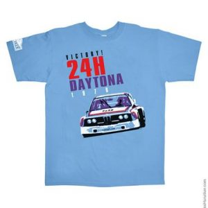 24H Daytona 1976 BMW 3.0CSL Batmobile Graphic Tee
