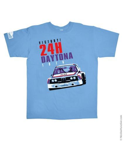 24H Daytona 1976 BMW 3.0CSL Batmobile Graphic Tee