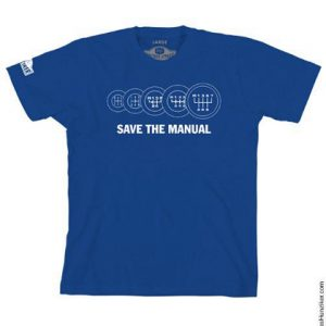 Save the Manual Graphic Tee (BLUE)