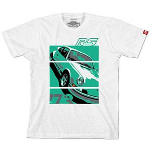 Porsche '73 Carrera RS 2.7 - Graphic Tee - White w/green