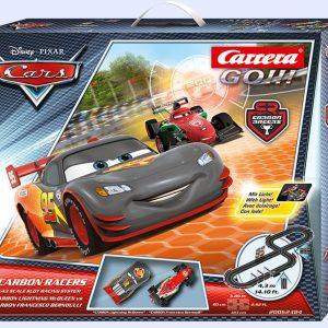 """Carrera GO!!! """"Cars"""" Carbon Racers Set"""