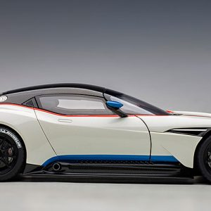 ASTON MARTIN Vulcan (Stratus White w/ Blue & Red stripes)