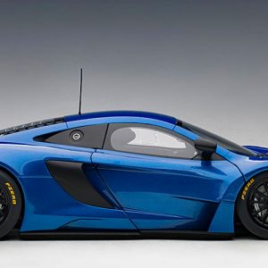 McLAREN 650S GT3 (Azure Blue / Black Accents)