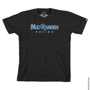 McQueen Racing Logo Graphic Tee - Black