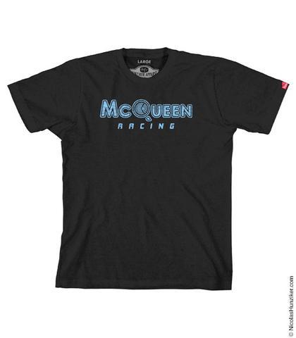 McQueen Racing Logo Graphic Tee - Black