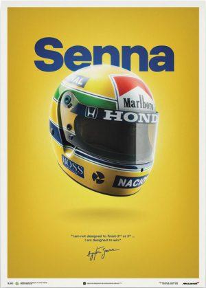 McLaren MP4/4 – Ayrton Senna – Senna Poster – automobilist