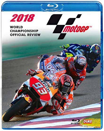 2018 MotoGP World Championship Official Review - BLU-RAY