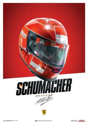 Ferrari F1-2000 - Michael Schumacher - Helmet – automobilist