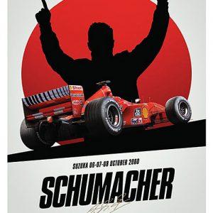 Ferrari F1-2000 - Michael Schumacher - Suzuka – automobilist