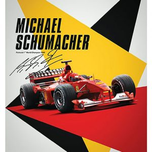 Ferrari F1-2000 - Michael Schumacher - Germany – automobilist