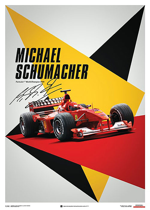 Ferrari F1-2000 - Michael Schumacher - Germany – automobilist