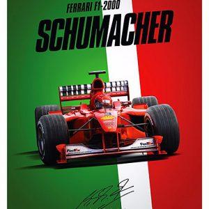 Ferrari F1-2000 - Michael Schumacher - Italy – automobilist