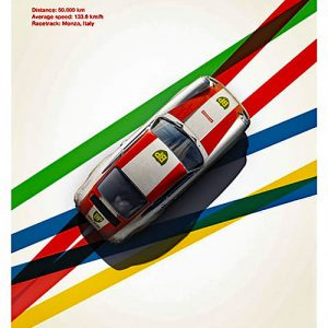 Porsche 911R - BP Racing - Monza - 1967 – automobilist