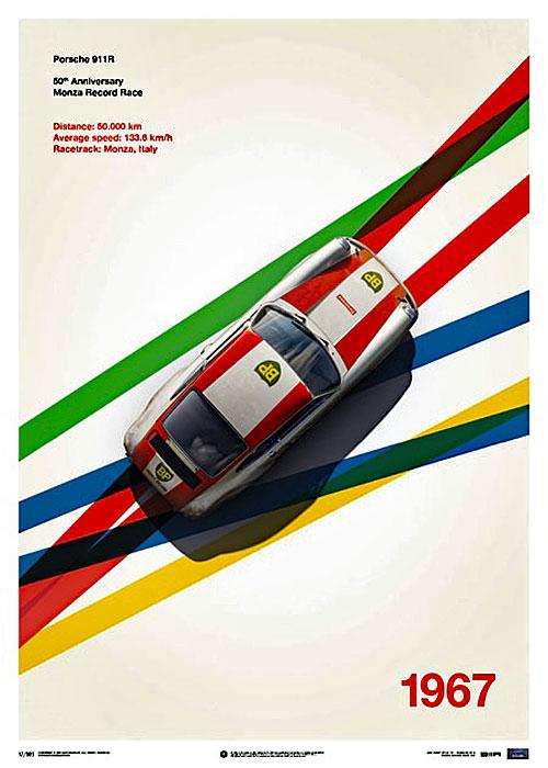 Porsche 911R - BP Racing - Monza - 1967 – automobilist