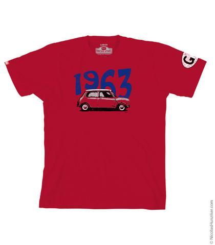 GB 1963 Mini Graphic Tee - Red