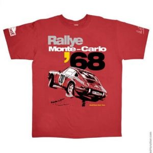 Vic Elford Rallye Monte-Carlo '68 Graphic Tee