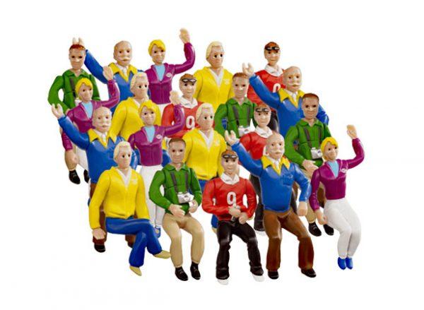 Set of figures Stands (20)