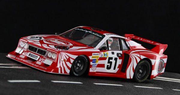 Lancia Beta Montecarlo No.51 Le Mans 24hrs 1980