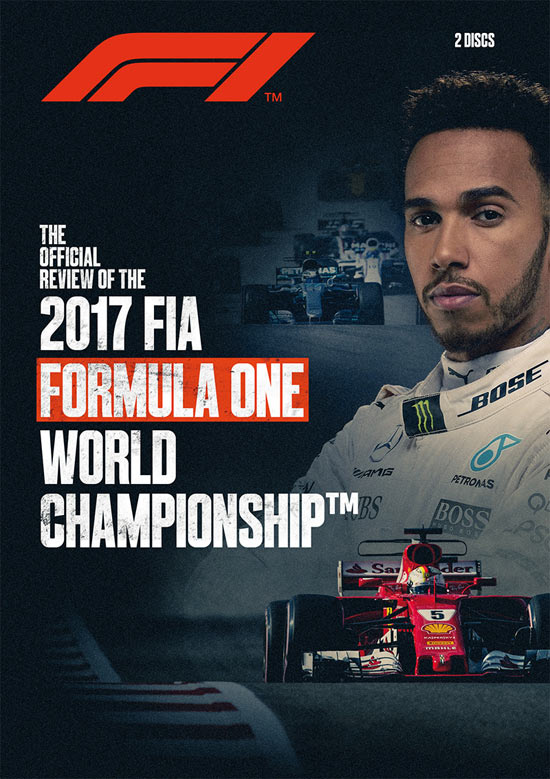 2017 FIA Formula One World Championship Official Review - DVD