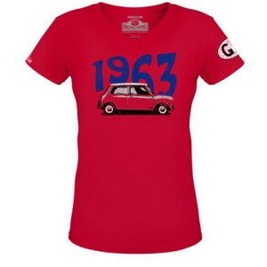 GB 1963 Mini Womens Tee - Red