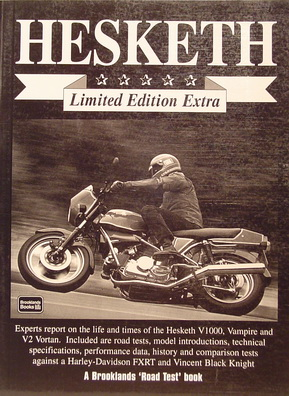 Hesketh. Expert reports V1000/Vampire.