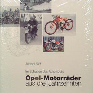Opel-Motorrader aus drei Jahrzenten.