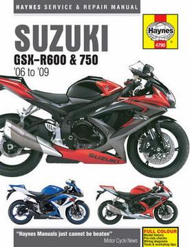 Suzuki GSX-R600 & 750 '06-'09.