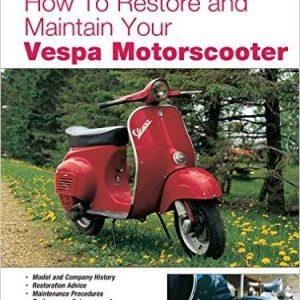 Vespa  Motorscooter.