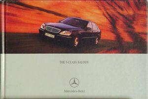 Mercedes-Benz S-Class Saloon.
