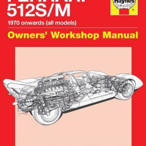 Ferrari 512 S/M Owners' Workshop Manual.