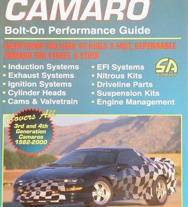 Camaro Bolt-On Performance Guide.