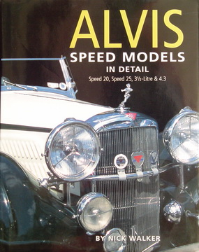 Alvis Speed Models In Detail.