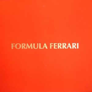 Formula Ferrari Limited Edition Book.