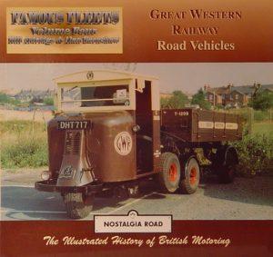 Great Western Railway Road Vehicles.