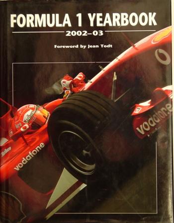 Formula 1 Yearbook 2002-03.