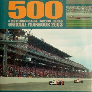 Autocourse Indianapolis 500 2003.