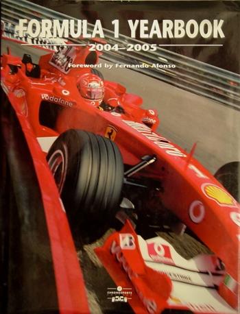 Formula 1 Yearbook 2004-2005.