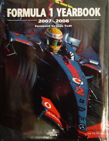Formula 1 Yearbook 2007-2008.