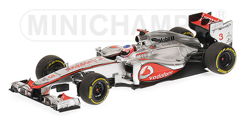 McLaren Mercedes MP4-27 J.Button.