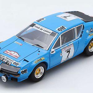 Alpine A310 3rd Tour de Corse 1974