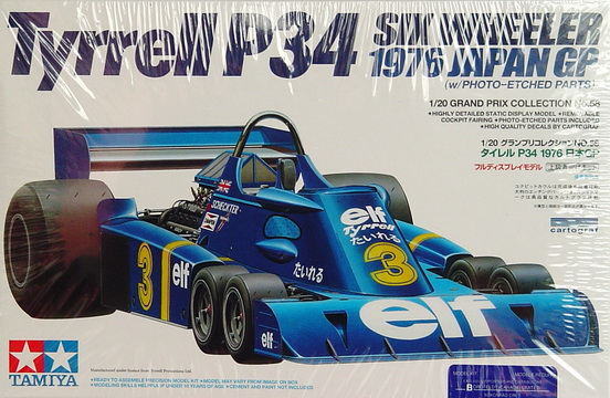 Tyrrell P34 Six Wheeler.