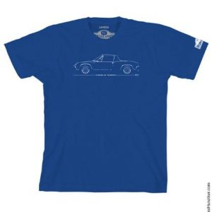 Porsche 914-6 Line Drawing Graphic Tee