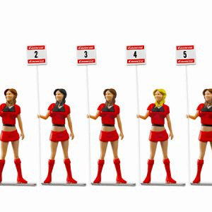 Set of figures Grid Ladies (5 standing)