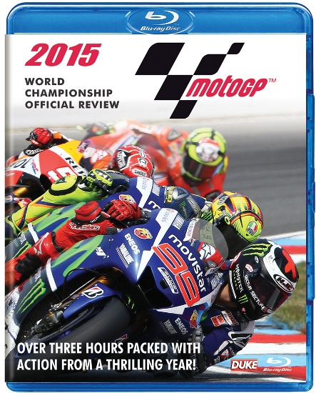 2015 MotoGP World Championship Official Review Blu-ray.